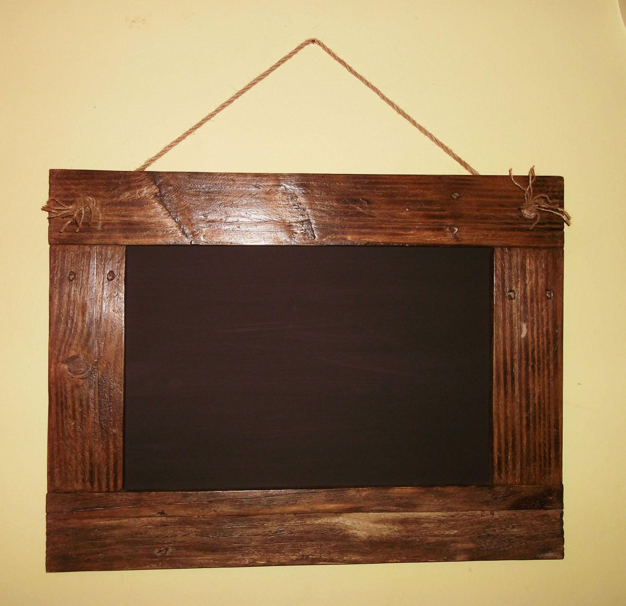 Reclaimed Wood Blackboards Memoboards Daves Beach Hut