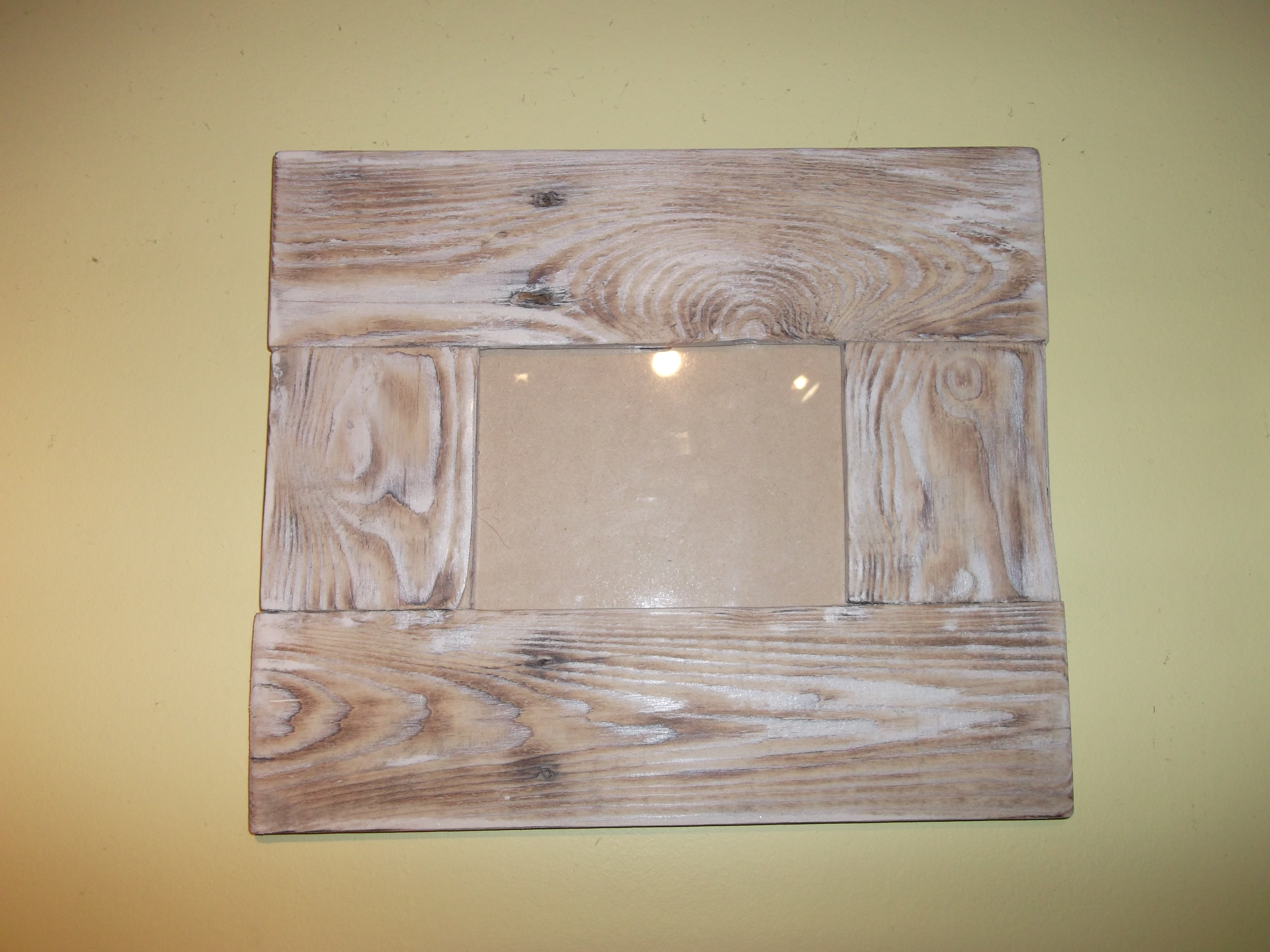 Reclaimed Wood Picture Frames | Dave\'s Beach Hut