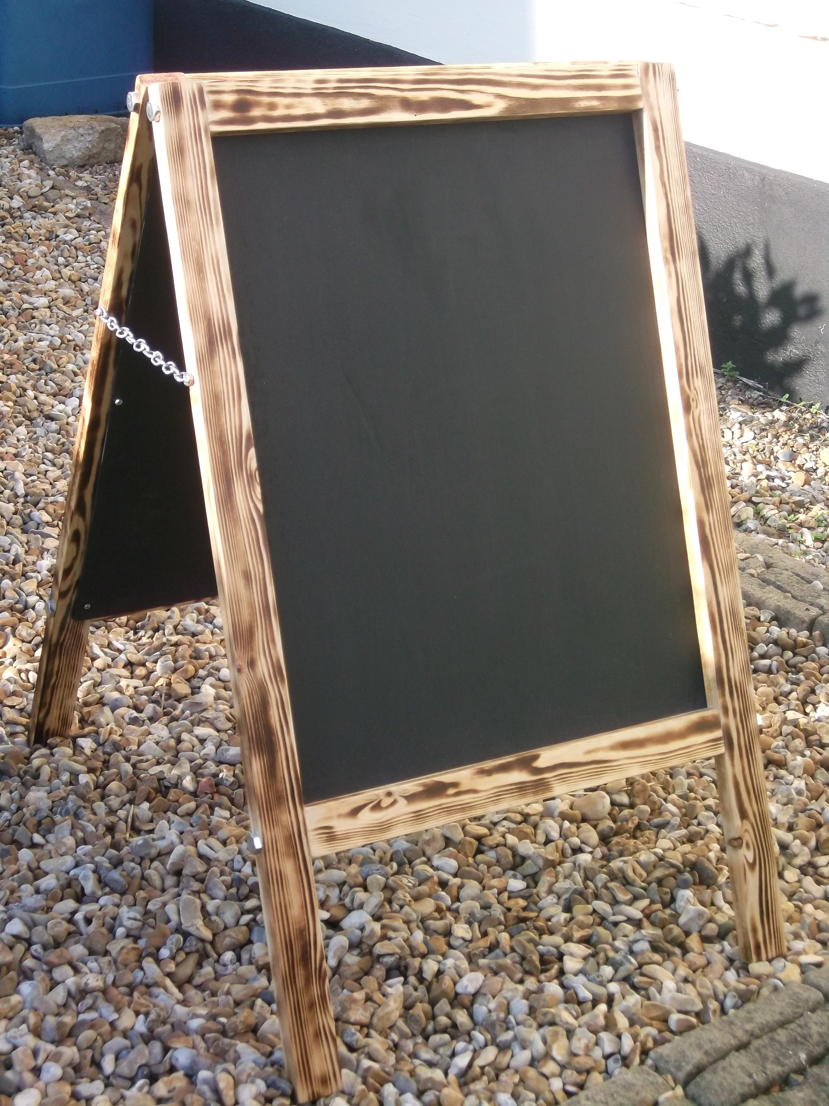 Reclaimed Wood Blackboards & Memoboards | Dave\'s Beach Hut