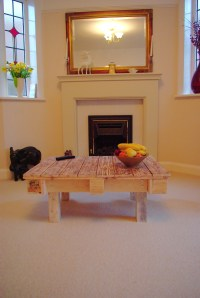 The finished coffee table