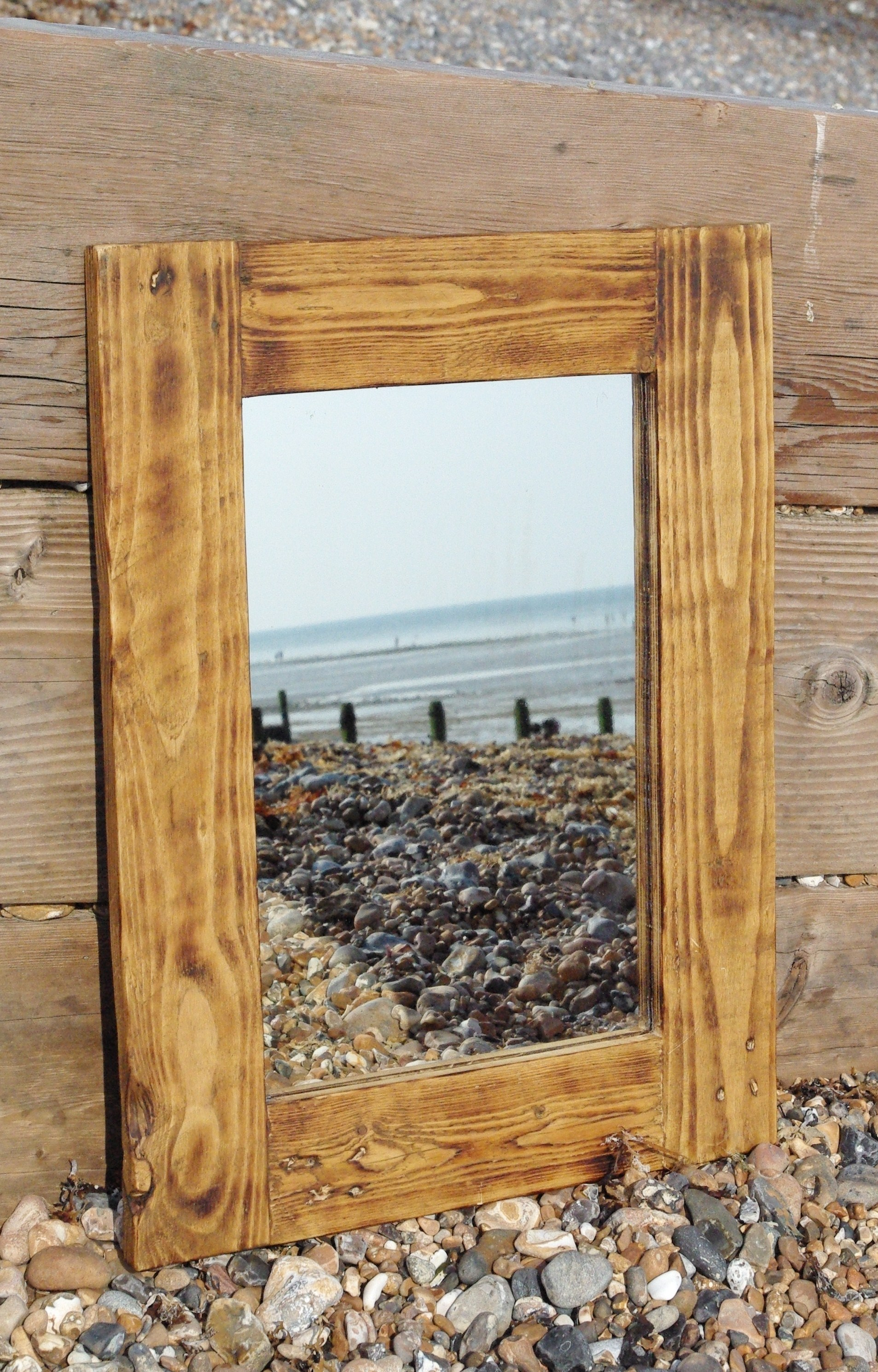 mirrors made with reclaimed wood available to order to